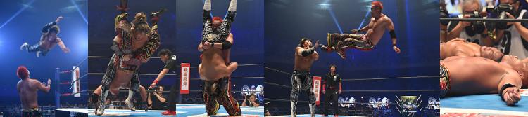 Tanahashi vs. Okada am 10.08.2018